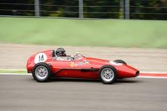 1960 OSCA Formula Junior at the Monza Circuit Royalty Free Stock Photos