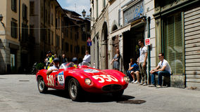 OSCA MT4 1500在Mille Miglia的2AD 2016年 免版税图库摄影
