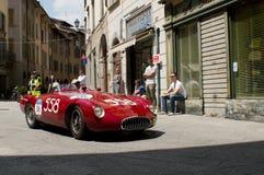 OSCA MT4 1500 2AD på Mille Miglia 2016 Arkivbilder