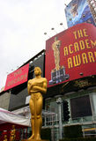 Oscar, Academy Awards. At the Kodak Theatre at Hollywood Royalty Free Stock Photo