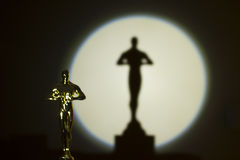 Oscar Award Fotografia de Stock Royalty Free