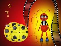 The Oscar Award. Illustration of the cinema objects Stock Photography