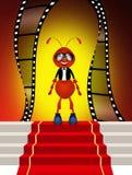The Oscar. Cute illustration of the Oscar Royalty Free Stock Photos