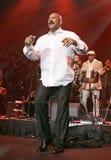Oscar De  Leon Performs de concert image libre de droits