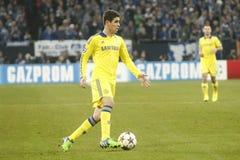 Oscar FC Schalke v FC Chelsea 8eme Final Champion League Royalty Free Stock Image