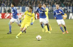 Oscar FC Schalke v FC Chelsea 8eme Final Champion League Stock Images