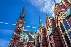 Oscar Fredrik Church - Γκέτεμπουργκ, Σουηδία Στοκ Εικόνες