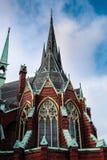 Oscar Fredrik kyrka royaltyfria bilder