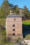 Oscar Fredriksborgs fortification Royalty Free Stock Photography