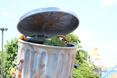 Oscar the grouch Royalty Free Stock Photos