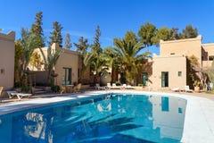 Oscar Hotel i Kartbok Korporation studior Ouarzazate Fotografering för Bildbyråer