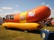 Oscar Mayer's Wienermobile Royalty Free Stock Image