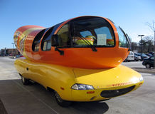 Oscar Mayer Weinermobile Imagem de Stock Royalty Free