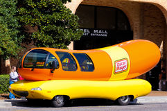 Oscar Mayer Wienermobile Royalty Free Stock Image