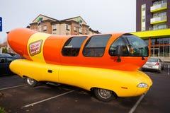 Oscar Mayer Wienermobile at University of Oregon Royalty Free Stock Photo