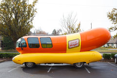 Oscar Mayer Wienermobile at University of Oregon Stock Photography