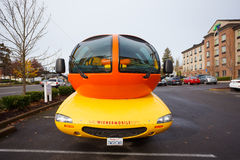 Oscar Mayer Wienermobile at University of Oregon Stock Images