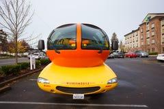 Oscar Mayer Wienermobile at University of Oregon Stock Images