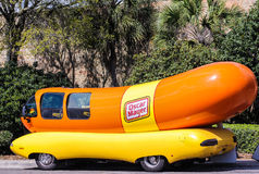 Oscar Mayer Wienermobile Royalty Free Stock Photo