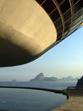Oscar Niemeyer's Niterói Contemporary Art Museum Royalty Free Stock Images