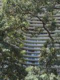 Oscar Niemeyer Building Royaltyfri Bild