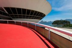 Oscar Niemeyer Contemporary Art Museum foto de stock royalty free