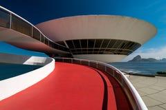 Oscar Niemeyer Contemporary Art Museum fotografia de stock royalty free