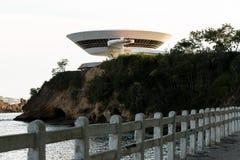 Oscar Niemeyer Contemporary Art Museum fotos de stock