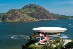 Oscar Niemeyer Contemporary Art Museum imagens de stock royalty free