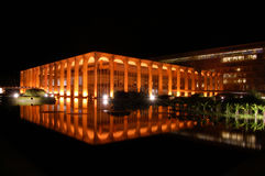 Oscar Niemeyer - il palazzo di Itamarati   Fotografia Stock Libera da Diritti