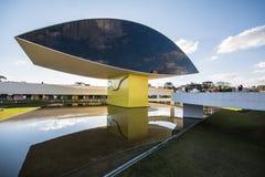 Oscar Niemeyer Museum - Curitiba/PR - Brasilien Lizenzfreie Stockbilder