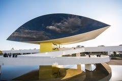 Oscar Niemeyer Museum - Curitiba/PR - Brasilien Royaltyfria Foton