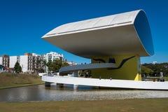 Oscar Niemeyer Museum em Curitiba imagem de stock royalty free