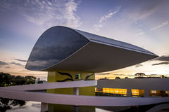 Oscar Niemeyer Museum Royalty Free Stock Photos
