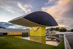 Oscar Niemeyer Museum Royalty Free Stock Photography