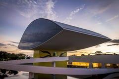 Oscar Niemeyer muzeum Zdjęcia Royalty Free