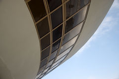Oscar Niemeyer's Niteroi Contemporary Art Museum Royalty Free Stock Photography