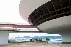 Oscar Niemeyers Niteroi-Kunst-Museum Lizenzfreie Stockfotografie