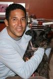 Oscar Nunez. At the party to celebrate the 100th Episode of 'Dog Whisperer'. Boulevard 3, Hollywood, CA. 09-17-08 Royalty Free Stock Photos