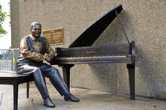 Oscar Peterson monument unveiled royalty free stock photography