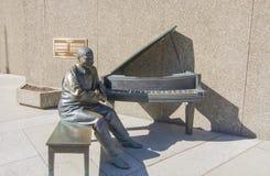 Oscar Peterson statua Fotografia Royalty Free