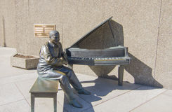 Oscar Peterson Statue Photographie stock libre de droits