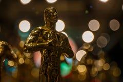 Oscar-Preisträger sind angekündigt worden! stockbilder