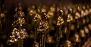 Oscar-Preisträger sind angekündigt worden! lizenzfreies stockfoto