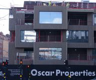 Oscar Properties building site royalty free stock photos