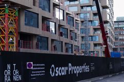 Oscar Properties building site stock photo