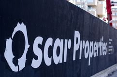 Oscar Properties building site stock photography