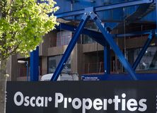 Oscar Properties building site royalty free stock image