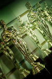 Oscar Statuettes, Hollywood Boulevard, Los Angeles Royalty Free Stock Photos