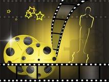 Oscar utmärkelser stock illustrationer